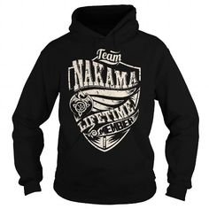I Love Team NAKAMA Lifetime Member (Dragon) - Last Name, Surname T-Shirt T shirts