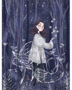 by Mori Raito Art And Illustration, Arte Peculiar, Poster S, Art Inspo, Art Girl, Bunt, Amazing Art, Character Art, Illustrators