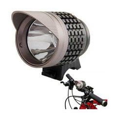 Potentes luces delanteras para manillar de bicicletas de montaña y paseo.