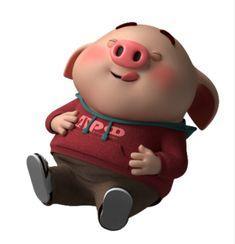 Pig Illustration, Illustrations, Pig Drawing, Little Pigs, Cartoon, Drawings, Funny, Sleep, Teacup Pigs