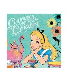 Alice in Wonderland Party Supplies Alice in Wonderland Birthday