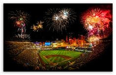 The only thing better than Pittsburgh Pirates baseball is FIREWORKS NIGHT at the stadium! Sports Wallpapers, Free Hd Wallpapers, Fireworks Wallpaper, Fireworks Images, Summer Summer Summertime, Baseball Wallpaper, Free Sports Picks, Baseball Park, Pirates Baseball