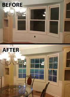 Quick Easy Faux Window Panes With Electrical Tape I M Doing This