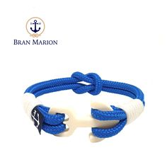 Bran Marion bracelets are the perfect casual accessory for the outdoorsy sporty types. Reef Knot, Marine Rope, Nautical Bracelet, Hardware, Sporty, Accessories, Integrity, Jewelry, Rust