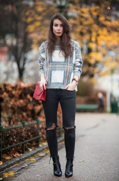 how to style sweater