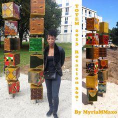 Le pagne accessoire - Totem tissu wax Myrian Maxo