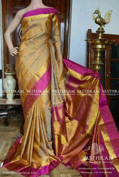 Kanchipuram silk saree Whatspp:  91 7019277192