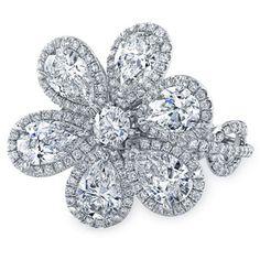 Style 1067, 18k white gold and diamond ring, Rahaminov Diamonds