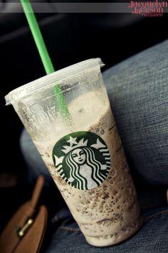 Starbucks frappuccino - my summer addiction