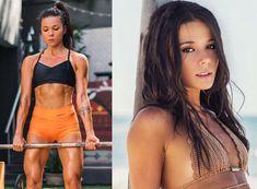 Brazilian / Chinese fitness model Tabata Chang