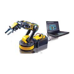 Kit Juguete Educativo Brazo Robótico vía USB – #Cebekit | Mundoikos Usb, Tablets, Drill, Robot, Tools, Html, Store, Educational Games, Educational Toys