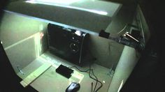 Here we look at building a Laser Light Plane (LLP) multitouch setup using an infrared light source to light up fingers/objects placed on the surface and a ca. Diy Tv, Multi Touch, Light Up, Project Ideas, Projects, Building, Table, Raspberry, Monitor