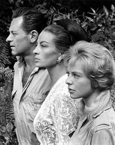 THE LION (1962) - William Holden - Capucine - Suzanne York - 20th Century-Fox.