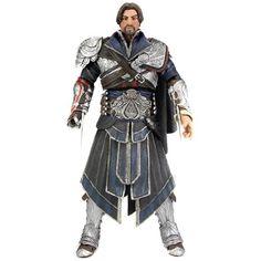 NIB NECA Assassin's Creed Brotherhood Ezio Unhooded Action Figure