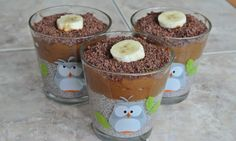 Chia pudink s čokoládovým krémem z avokáda a banánu