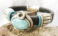 Leather Regaliz Bracelet