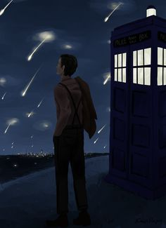 It's just...the angels, and the TARDIS, and...the feeling that Dean and Sam could really use the Doctor's help right about now...