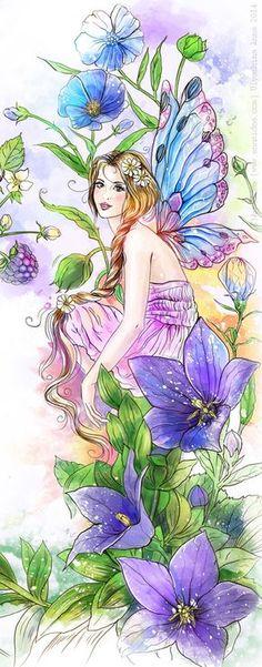 Morning Glory fairy!