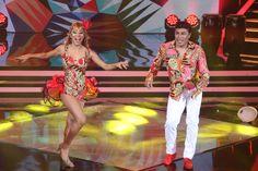 El Coyote Rivera y Daniela en la pista de baile de #ELGranShow