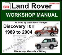 land rover discovery 2 1999 2006 workshop manual