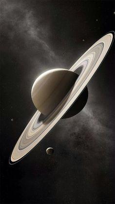 This Computer Generated Image of Saturn is sooo nice 😊 – Galaxy Art Hd Wallpaper Android, Computer Wallpaper, Planets Wallpaper, Galaxy Wallpaper, Wallpaper Earth, 3d Wallpaper, Space Planets, Space And Astronomy, Arte Do Sistema Solar