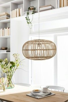 Want to buy hanging lamp Indy natural? hanging lamps Chore, Want to buy hanging lamp Indy natural? Interior Inspiration, Room Inspiration, Home And Living, Living Room, Modern Country Style, 1930s House, Living Comedor, House Beds, Home Lighting