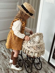 Ravelry: Amelia Sundress for kids pattern by Alyona She Knitting For Kids, Baby Knitting Patterns, Crochet For Kids, Crochet Patterns, Crochet Baby Clothes, Kids Patterns, Baby Sweaters, Baby Dress, Kids Fashion