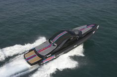 We take a closer look at some of the best boats that have been designed by car brands, from the Riva Ferrari 32 to the Axopar Brabus Shadow 800 - Atlantic Fast Boats, Speed Boats, Power Boats, Duck Boat Blind, Runabout Boat, Martini Racing, Wooden Boat Plans, Nautical Design, Yacht Boat