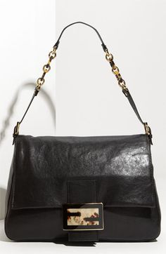 Fendi 'Forever Big Mama' Lambskin Leather Flap Bag