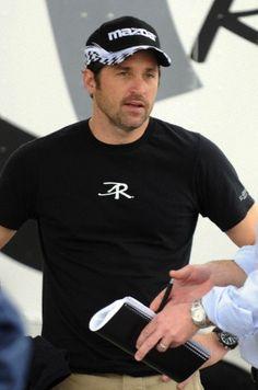 x Patrick Dempsey Racing, Mens Tops, T Shirt, Fashion, Moda, Tee Shirt, Fashion Styles, T Shirts, Fashion Illustrations