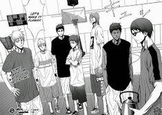 Kuroko no Basket Manga Extra Game 1 - Image 39-40