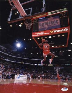 Michael Jordan Signed 11x14 Photo - PSA/DNA #SportsMemorabilia #ChicagoBulls