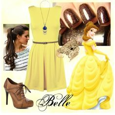 """Belle from Beauty and the Beast"" outfit"