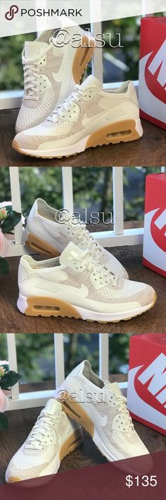 dbecc2f0ad24 NWTNike Air Max 90 Ultra Flyknit Sail WMNS Brand new with box. Price is firm