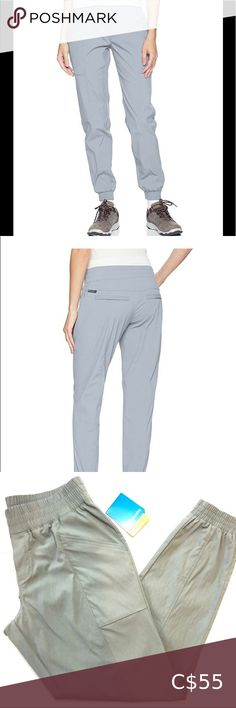 """Columbia Wander Jogger NWT Columbia Sportswear Wander More Jogger in light grey. Great for hiking, errands and crappy weather ( Omni-Shield fabric is rain and stains repellent). Pristine condition. Sized Medium- goes from about 30""""-35"""". Columbia Pants & Jumpsuits Track Pants & Joggers"""