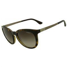 Óculos de Sol Vogue Marrom com Lente Marrom Degradê - VO2987SLW65613