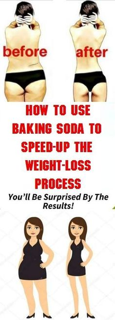 Use Baking Soda To Speed-UP The Weight-Loss Process - Health Care and Fitness Tips
