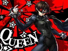 Artist: Tori Otoko   Shin Megami Tensei: Persona 5   Niijima Makoto   Queen