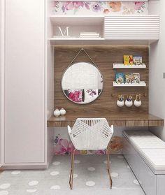 Girl Room, Girls Bedroom, Bedroom Decor, Bedrooms, Desk Inspiration, Interior Decorating, Interior Design, New Room, Cheap Home Decor