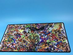 Mairuige Shop Marvel Comic Gaming Mouse Pad 900*400 High Quality DIY Picture with Edge Locking Mouse Mat for CS GO Dota 2 LOL