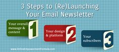 3 Steps to (Re)Launching Your Email Newsletter - Online Empowerment FormulaOnline Empowerment Formula