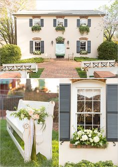 Mary's at Fall's Cottage, Greenville, SC - gorgeous wedding ceremony venue featured on @weddingchicks