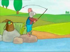 Kikker is ongeduldig. hij gaat vissen. voor kern 1 ook heel geschikt