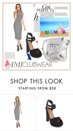 """AMICLUBWEAR 8/IV"" by damira-dlxv ❤ liked on Polyvore featuring Whiteley and amiclubwear"