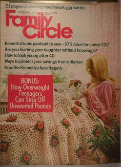 https://flic.kr/p/vYpwc5 | Family Circle Feb 1971 | $6.00 each plus Shipping.