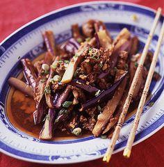 The Joy Luck Club: Eggplant in Garlic Sauce Recipe   SAVEUR