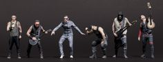 3D Figuren RAMMSTEIN Live