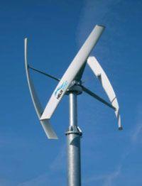 De verticale as- windturbine, ontwikkelt door het Britse bedrijf McCamley, wordt aangeleverd in een doe- het- zelf bouwpakket en kan zonder mast op het dak worden geplaatst. Erg handig dus. Makkel...