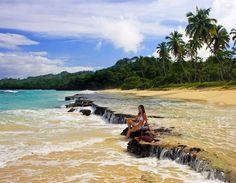 Rincon beach, Samana Peninsula   Dominican Republic Free Travel Guide