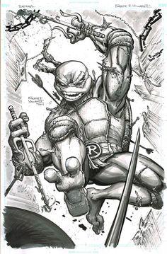 Teenage Mutant Ninja Turtles - Raphael by Freddie E. Williams II